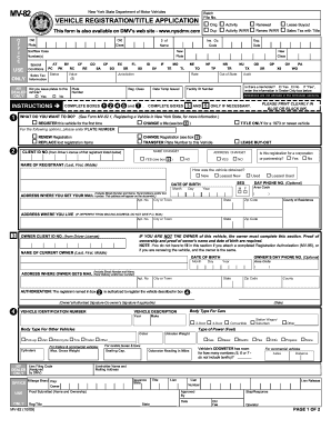 Dmv form mv-82 - Edit & Fill Out Top Online Forms, Download ...