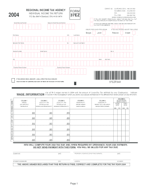 Rita Ohio Fillable Form 37 - Fill Online, Printable, Fillable ...