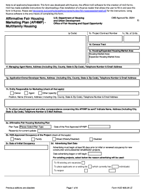 Form HUD    A Fill Online  Printable  Fillable  Blank    Fill Online