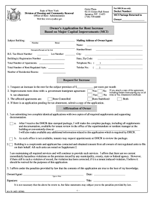 Mci application nyc fillable fill online printable for Motor carrier identification report