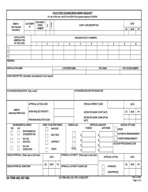 Da 4283 Customer Id - Fill Online, Printable, Fillable, Blank ...