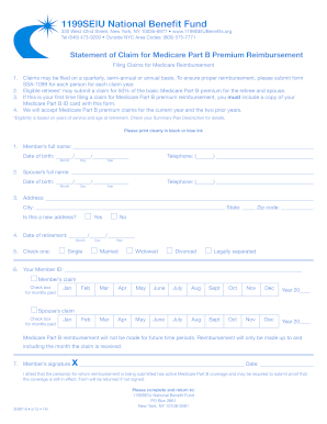 1199seiu Medicare - Fill Online, Printable, Fillable, Blank ...