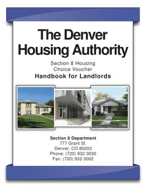 Denver Housing Authority Verification Procedure - Fill