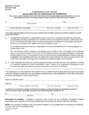 2015-2017 Form VA DoT ST-13A Fill Online, Printable, Fillable ...