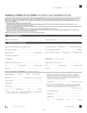durable power of attorney form michigan Templates - Fillable ...