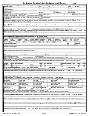Fannie mae bpo form pdf for Broker opinion of value template