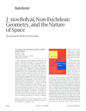 Non Euclidean Geometry And Nature Of Space By Jeremy J Gray