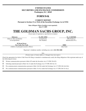 Fillable Online THE GOLDMAN SACHS GROUP, INC  Fax Email Print