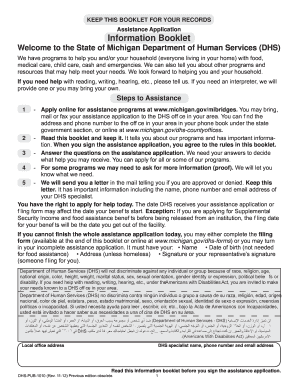 2012 Form MI DHS-PUB-1010 Fill Online, Printable, Fillable, Blank ...