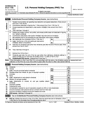 Editable 1120 other deductions statement example - Fill