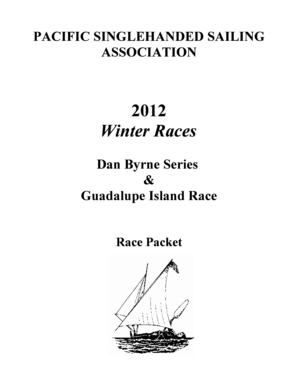Pacific single handed sailing association Pacific Singlehanded Sailing Association, Challenging races for single and double handers
