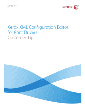 xerox configuration tools form