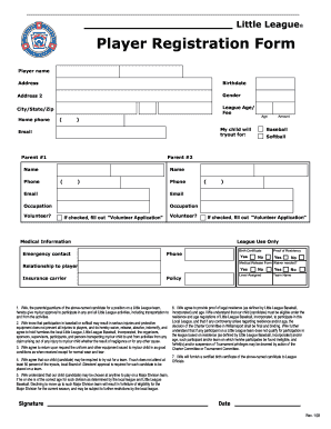 football contract template - blank registration forms template fill online printable