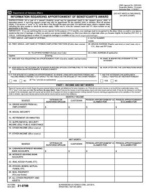 Va Form 21 0788 - Fill Online, Printable, Fillable, Blank | PDFfiller