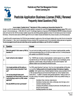 renew business license michigan - Edit, Print, Fill Out