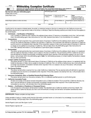 Ucla Form 590 - Fill Online, Printable, Fillable, Blank | PDFfiller