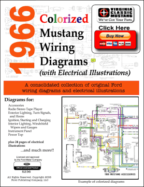 Fillable Online DEMO - 1966 Colorized Mustang Wiring Diagrams. 1966  Colorized Mustang Wiring Diagrams Fax Email Print - PDFfillerPDFfiller