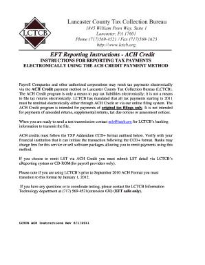 Nebraska Ach Credit Enrolment Form Instructions - Fill Online ...