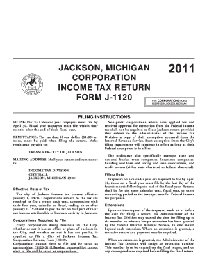 Jackson Michigan Tax Forms E Form - Fill Online, Printable ...