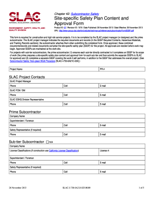 contractor safety plan template - 28 printable construction safety plan forms and templates