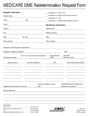 Cgs Medical Form - Fill Online, Printable, Fillable, Blank | PDFfiller