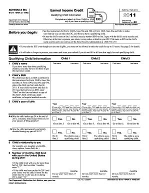 2014 eic form 1040