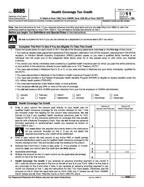 8885 Form - Fill Online, Printable, Fillable, Blank | PDFfiller