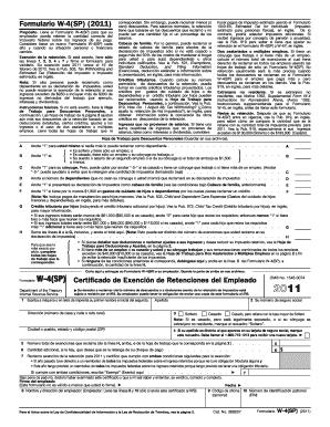 W 4 Espanol - Fill Online, Printable, Fillable, Blank | PDFfiller