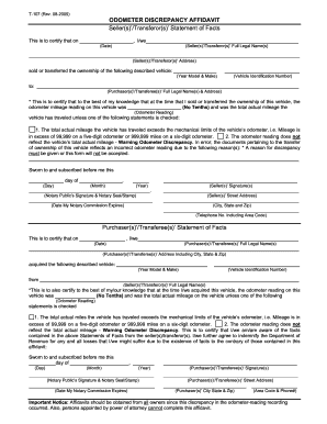 photo about Printable Odometer Statement referred to as odometer disclosure assertion georgia - Fill Out, Print