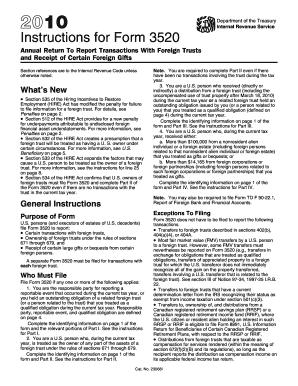 trust tax return instructions 2010