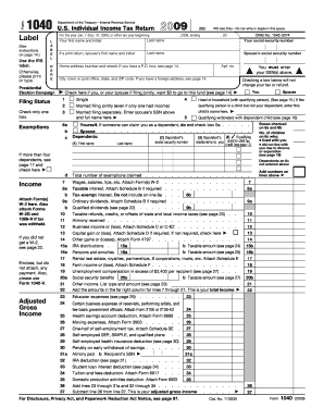 blank 1040 form  Us Individual Income Tax Return 7 Form - Fill Online ...