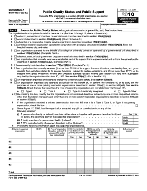 2010 form 990 schedule a
