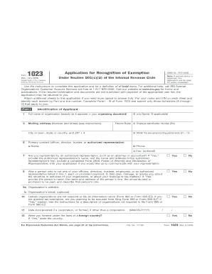 form 1023 ez online