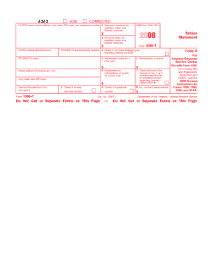 1098 t 2014 form