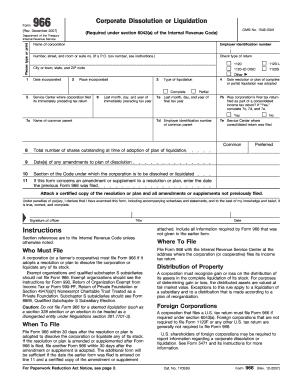 Form 966 - Fill Online, Printable, Fillable, Blank   PDFfiller