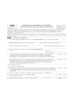 Form 1023 (Rev. June 2006) (Fill-In Capable) - Uncle Fed's Tax*Board