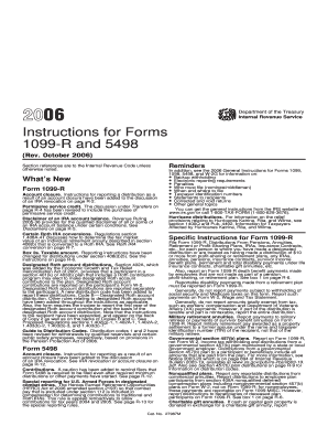 Form 5498 2006 - Fill Online, Printable, Fillable, Blank | PDFfiller