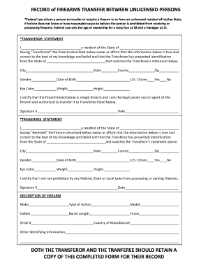 bill of sale form florida firearm bill of sale templates fillable