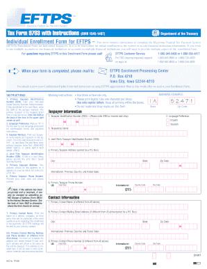 Eftps payment report worksheet short form