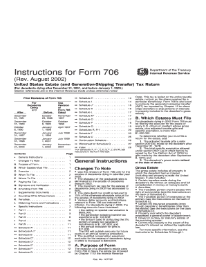706 instructions 2001