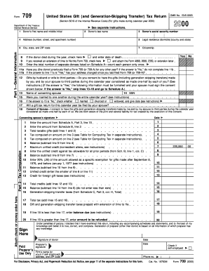 IRS 709 form | PDFfiller Sample Examples Of Irs Form on irs form 5498 sample, irs form 941 sample, irs form 1040x sample, irs form 720 sample, irs form 5500 sample,