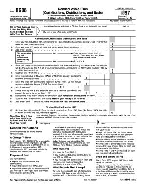 1983 Form 8606 - Fill Online, Printable, Fillable, Blank | PDFfiller