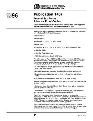 Sf 1407 fillable form