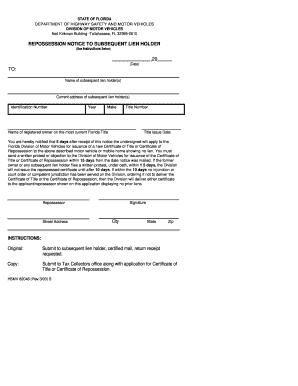 2003 Form FL HSMV 82048 Fill Online, Printable, Fillable, Blank ...