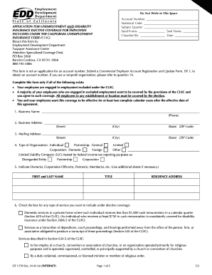 application for unemployment insurance california form