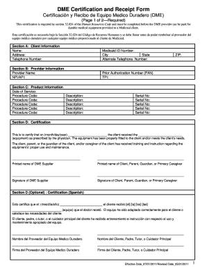 standard receipt form pdf fillable