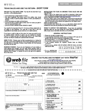 2011 Form TX Comptroller 01-117 Fill Online, Printable, Fillable ...