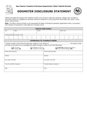 Bill of sale form new mexico response form templates for New mexico motor vehicle bill of sale