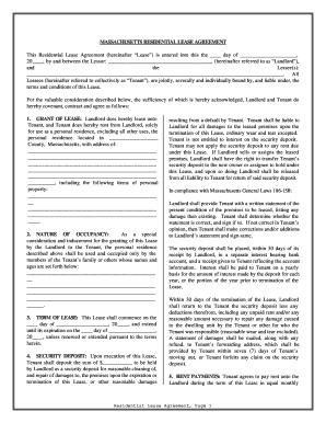 Bill of sale form massachusetts commercial lease agreement templates massachusetts residential lease form platinumwayz