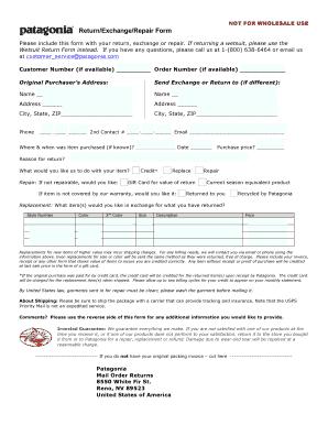 ll bean return form pdf